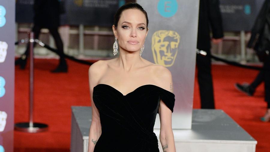 Angelina Jolie no BAFTA - Getty Images