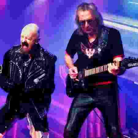 Glenn Tipton participa de show do Judas Priest ao lado de Rob Halford - Reprodução/Instagram