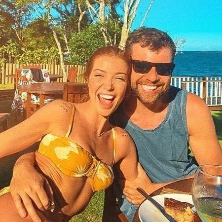 Luiza Possi e o marido Cris Gomes - Reprodução/Instagram
