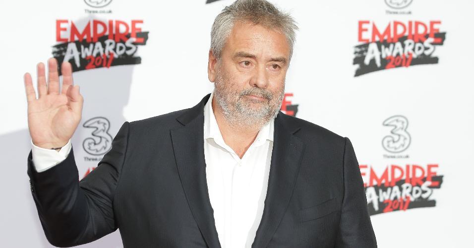 Cineasta francês Luc Besson