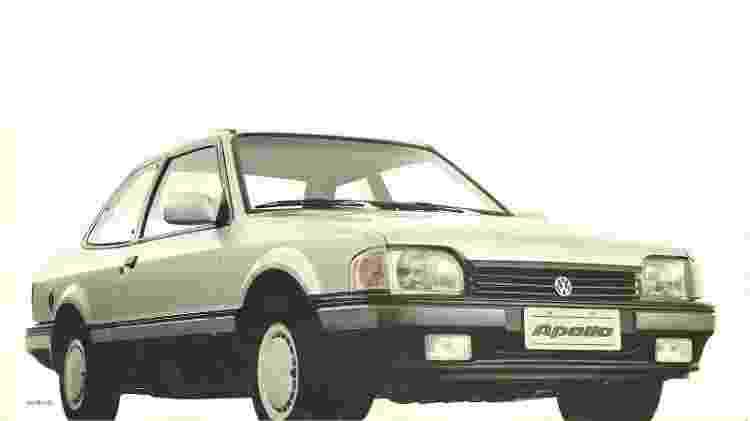 """VW Apollo era praticamente um """"irmão gêmeo"""" do Ford Verona - Divulgação"""