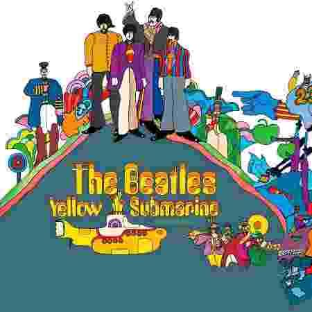 Capa do Yellow Submarine - Divulgação - Divulgação