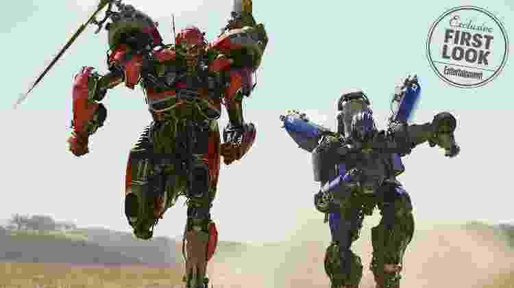 Imagem mostra Decepticons que atormentarão a vida do Autbot amarelo no filme derivado de Transformers - Reprodução - Reprodução