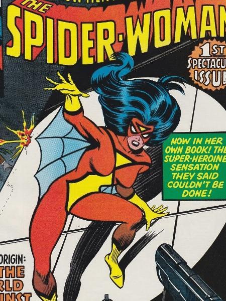 Capa da HQ da Mulher-Aranha - Reprodução