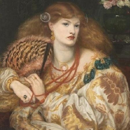 """Quadro """"Monna Vanna"""", de 1866, está no perfil @guccibeauty - Reprodução/Instagram"""