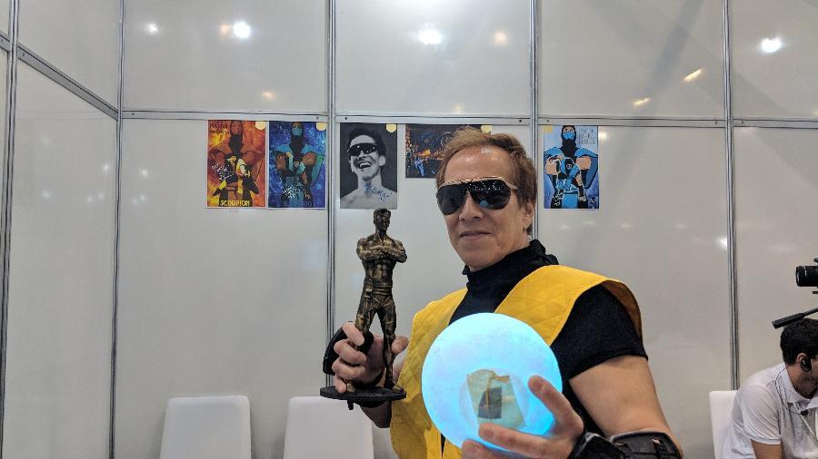 """Daniel Pesina interpretou personagens nos primeiros jogos da série """"Mortal Kombat"""" - Rodrigo Lara/UOL"""