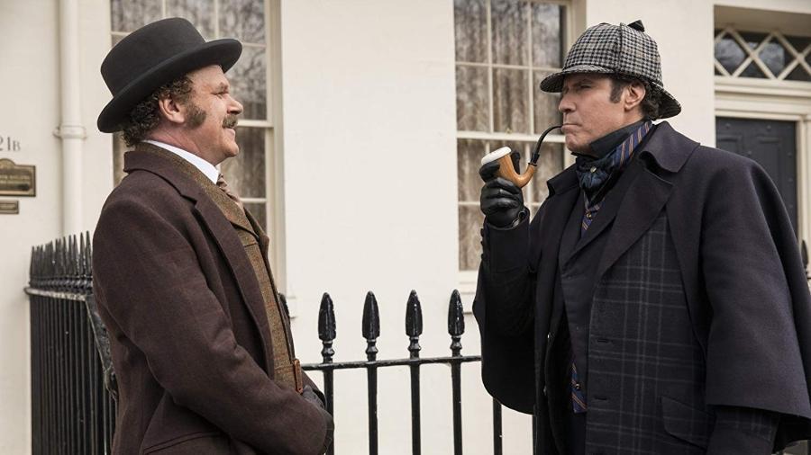 """Cena da comédia """"Holmes & Watson"""" - Divulgação"""