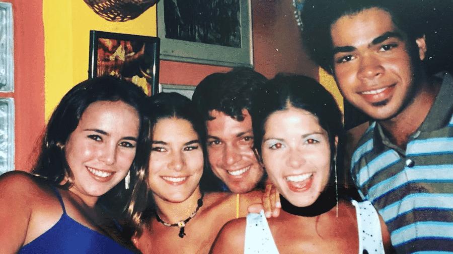Fernanda Nobre, Priscila Fantin, Mario Frias, Samara Felippo e Robson Nunes - Reprodução/Instagram