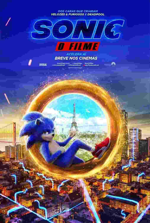 """Cartaz de """"Sonic - O Filme"""" - Divulgação"""