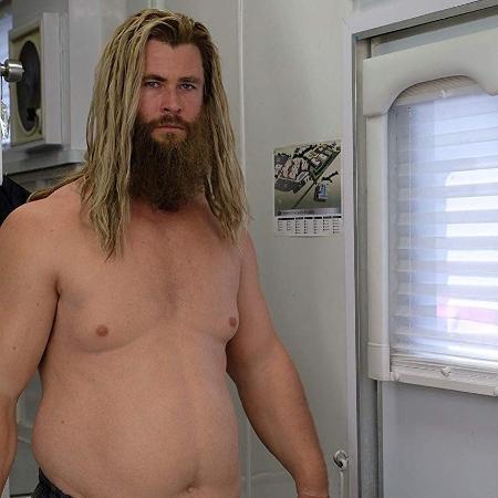 """Chris Hemsworth em """"Vingadores: Ultimato"""" - Divulgação"""