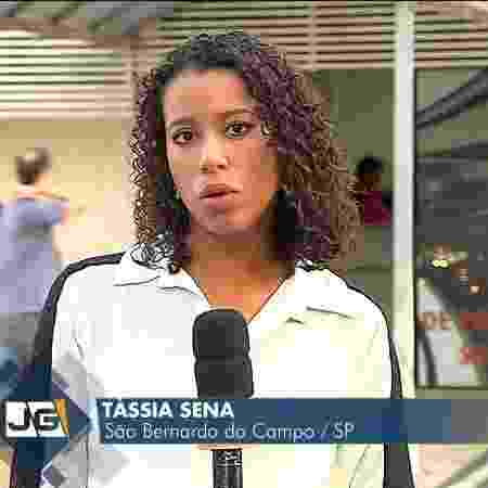 Tássia Sena, da TV Gazeta para a TV Globo - TV Gaz\eta