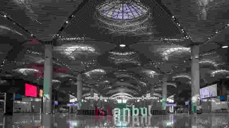 Aeroporto de Istambul, na Turquia - Turker Minaz/Getty Images - Turker Minaz/Getty Images
