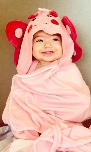 Zoe Sato, filha de Sabrina e Duda Nagle