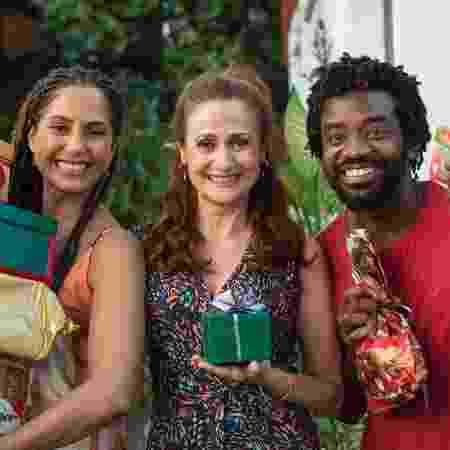 Camila Pitanga, Zezé Polessa e Fabrício Boliveira - Estevão Avellar / TV Globo - Estevão Avellar / TV Globo