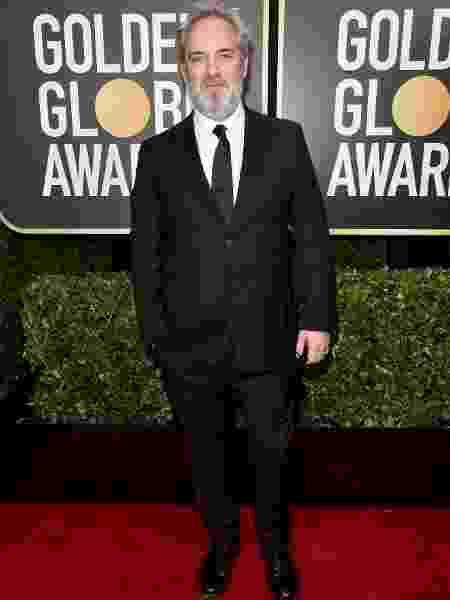 O diretor Sam Mendes no 77ª Globo de Ouro - Alberto E. Rodriguez/Getty Images
