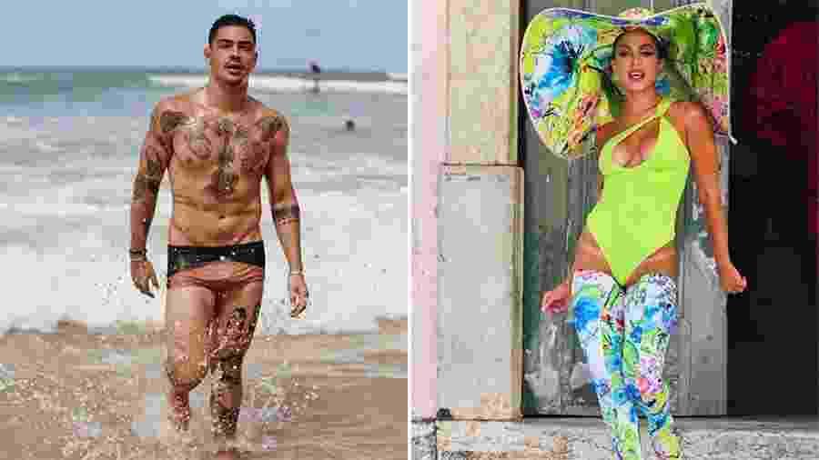 Caio Cabral e Anitta viveram um romance no final do ano passado - Reprodução/Instagram e Agatha Gameiro/Brazil News