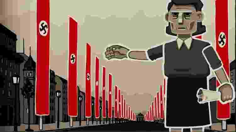 Regime nazista durou 12 anos na Alemanha - Reprodução