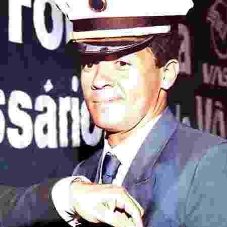 O comissário Sérgio Dias, em 1986 - Arquivo pessoal - Arquivo pessoal