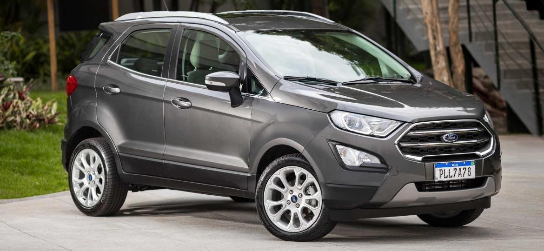 Fim da produção do EcoSport em Camaçari (BA) foi anunciada no último dia 11; cria brasileira, SUV segue à venda nos EUA, na Europa e em outros mercados - Divulgação