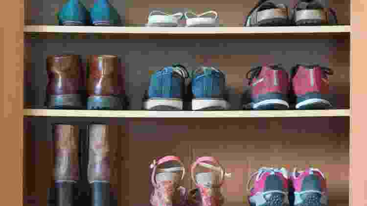 Prateleiras de sapatos - Getty Images/iStockphoto - Getty Images/iStockphoto