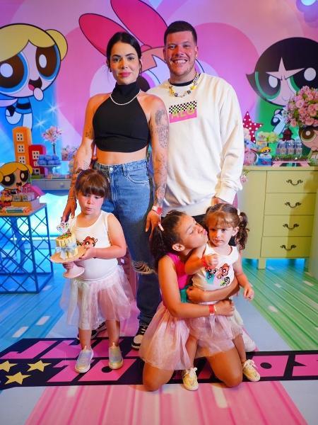 Ferrugem faz festa de aniversário para primogênita em hotel - Thiago Mendes/Divulgação