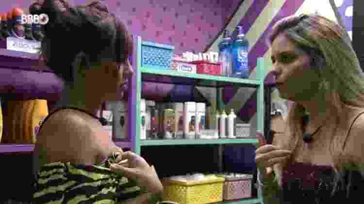 BBB 21: Thaís toma bronca de Viih Tube por causa de Fiuk - Reprodução/Globoplay - Reprodução/Globoplay