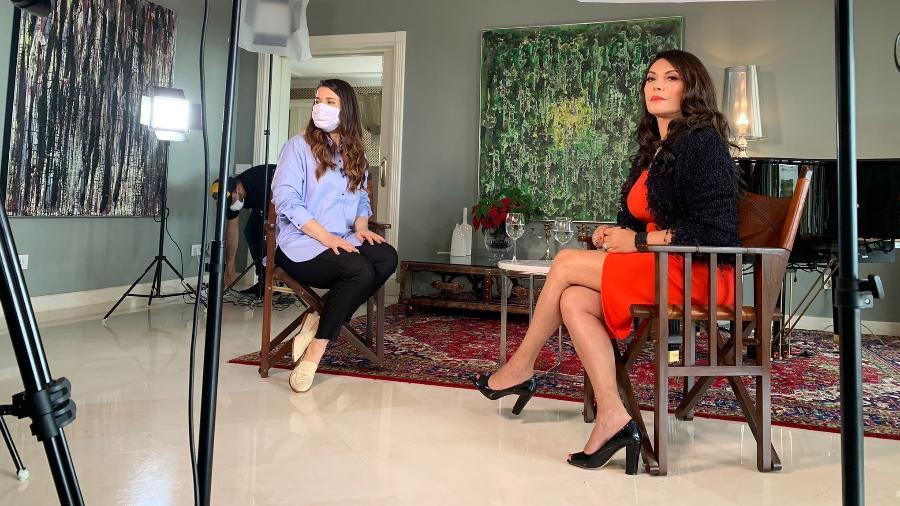 Apresentadora Márcia Goldschmidt está fora da TV desde 2011 - Divulgação