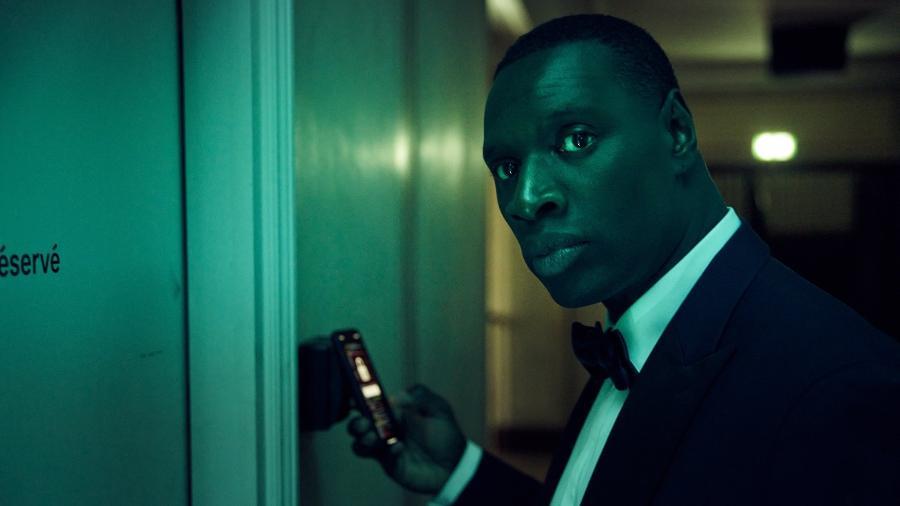 Assane Diop interpretado por Omar Sy, protagonista de Lupin, é o galã mais desejado do momento  - Emmanuel Guimier / Netflix