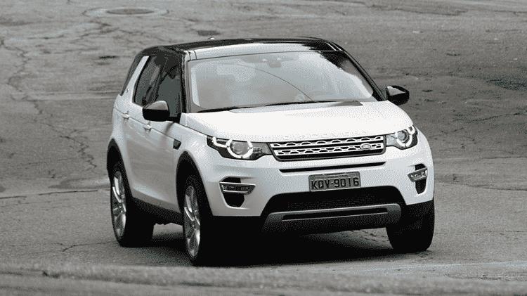 Land Rover Discovery Sport - Murilo Góes/UOL - Murilo Góes/UOL