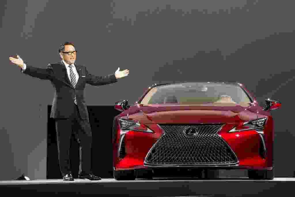 Lexus LC500 - Geoff Robins/AFP