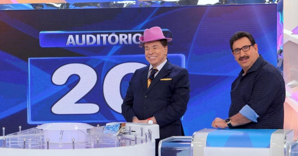 Silvio Santos e Ratinho