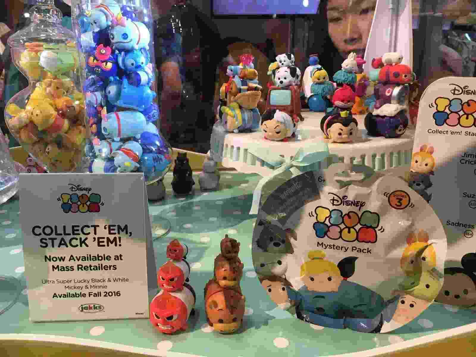 Moda nos EUA, os bonequinhos da linha Tsum Tsum reúne personagens de diversos universos como personagens da Disney e heróis da Marvel - James Cimino/UOL