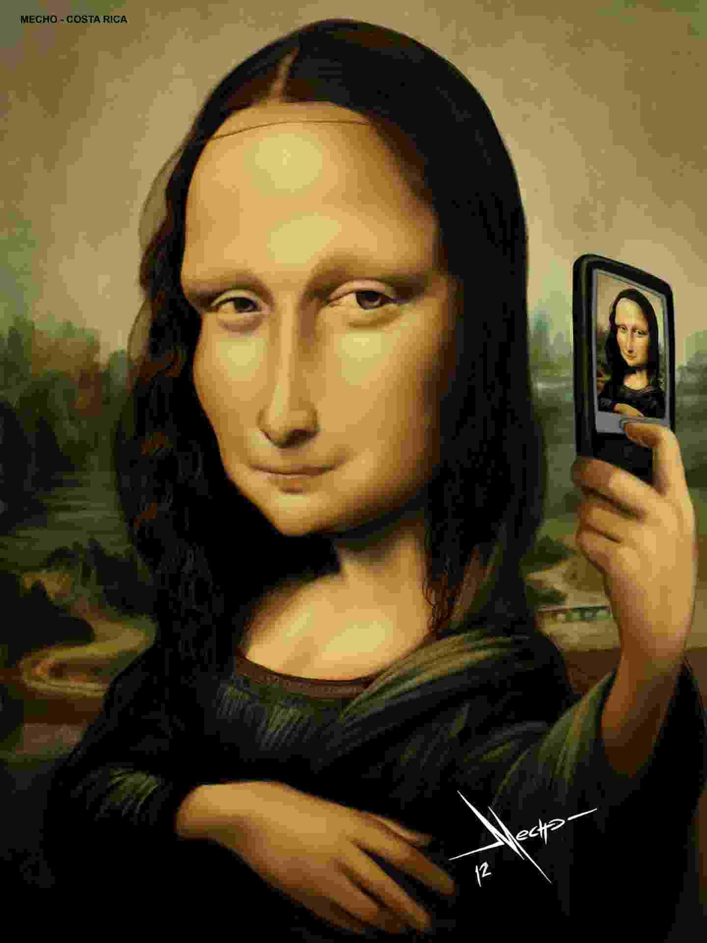 Sorrindo com a Mona Lisa - Divulgação