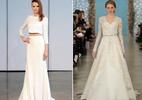 10 vestidos de noiva que estarão em alta em 2017 - Montagem/ Revista Caras