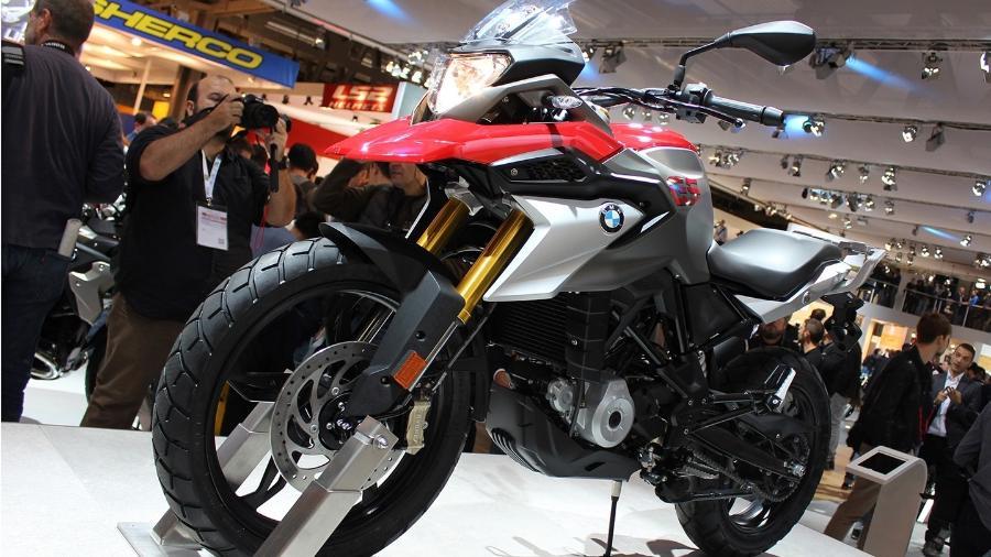 Modelo, mostrado em Milão e que imita a R 1200 GS, será vendido e produzido localmente - Infomoto