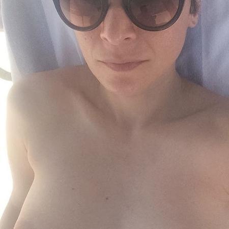 Patrícia Marx protesta contra foto censurada no Instagram - Reprodução/Instagram/patriciamarxoficial