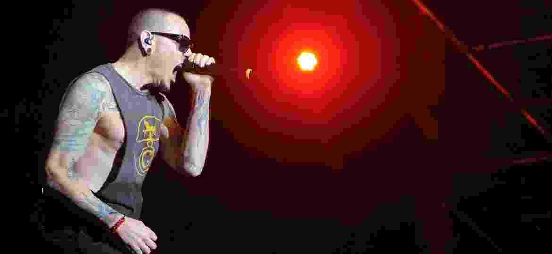 Banda americana Linkin Park encerra Maximus Festival 2017, em São Paulo - Reinaldo Canato/UOL