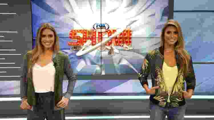 """Bia e Branca Feres, as gêmeas do nado sincronizado, que vão comandar novo quadro no """"Fox Sports Show"""" - Divulgação - Divulgação"""
