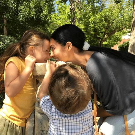 Simaria com os filhos, Giovanna e Pawel - Reprodução/Instagram/simaria