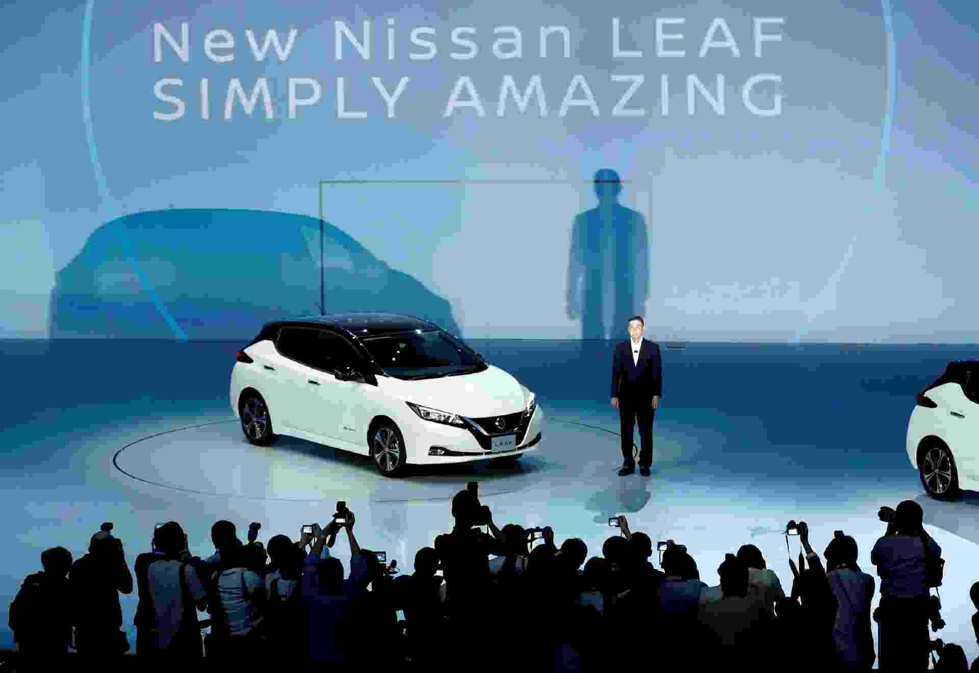 Nissan Leaf 2018 - Kim Kyung-Hoon/Reuters