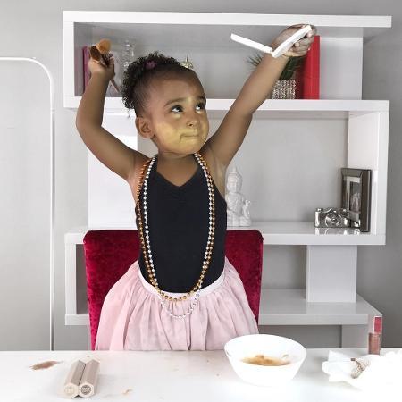 Samia Ali, a blogueira de 2 anos de idade - Reprodução/Instagram