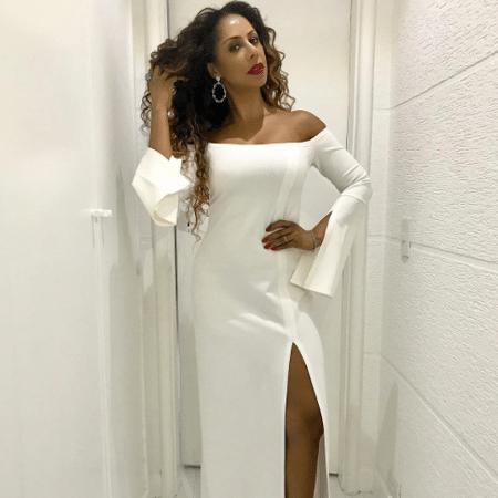 Valéria Valenssa em foto no dia de seu aniversário de 46 anos - Reprodução/Instagram/valeria_valenssa