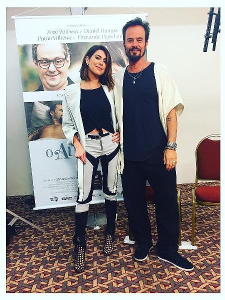 Fernanda Paes Leme perdeu a virgindade aos 17 anos com Paulinho Vilhena - Reprodução/Instagram/fepaesleme