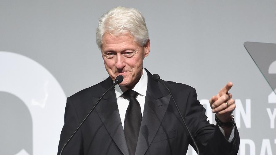 Bill Clinton, que esteve na Casa Branca entre 1993 e 2001 - Getty Images