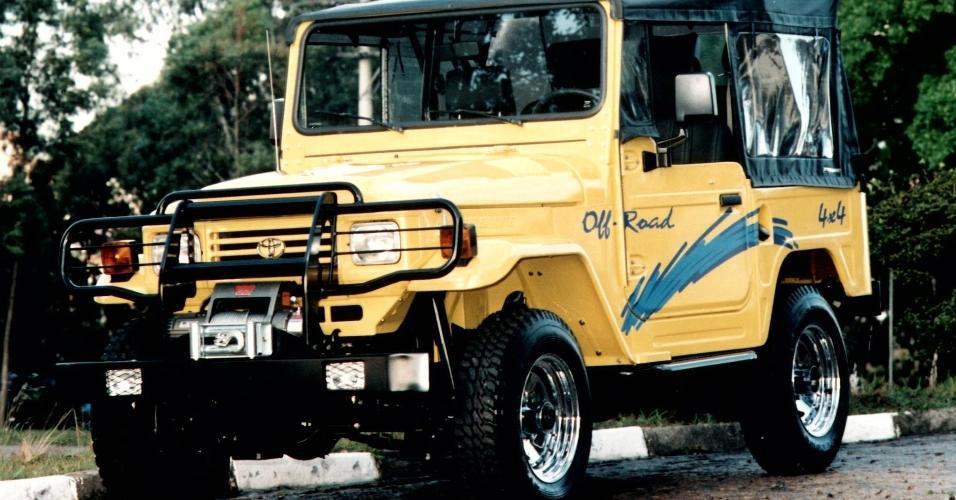 Toyota Land Cruiser virou Bandeirante no Brasil - BOL Fotos