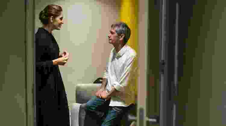 """Poliana Abritta conversa com Serginho nos bastidores do """"Altas Horas"""" - Globo/Rogério Fernandes - Globo/Rogério Fernandes"""