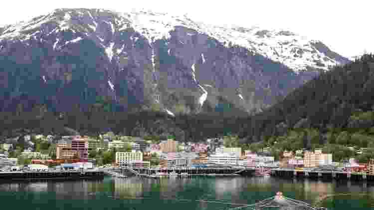 Cidade de Juneau, no Alasca - Getty Images/iStockphoto - Getty Images/iStockphoto