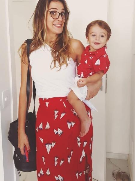 Rafa Brites e o filho, Rocco - Reprodução/Instagram