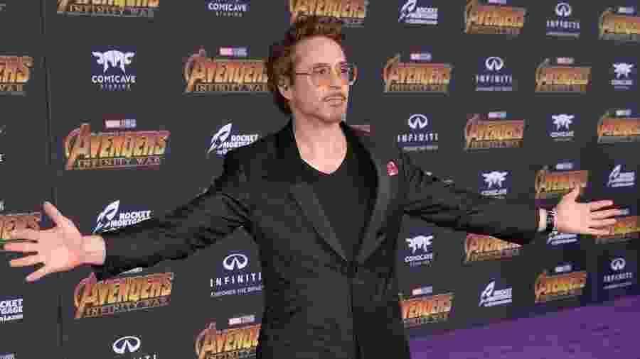 Robert Downey Jr.: agora virando Homem de Ferro na vida real - Getty Images