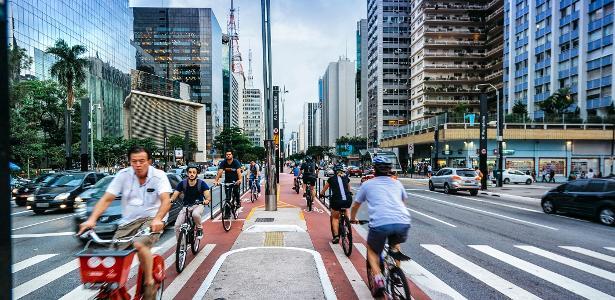 Morar perto de ciclovias e ciclofaixas aumenta em 154% a chance de usar a bicicleta como meio de transporte